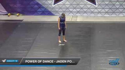 Power of Dance - Jaden Powers [2021 Senior - Solo - Lyrical Day 2] 2021 Badger Championship & DanceFest Milwaukee