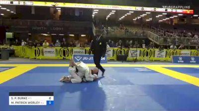 SEAN P. BURKE vs M. PATRICK WORLEY 2021 Pan Jiu-Jitsu IBJJF Championship