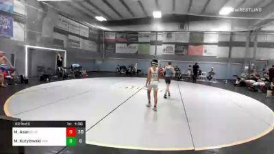 84 lbs Prelims - Marcos Asan, Buxton (NJ) vs Mason Kutylowski, Roundtree Wrestling Academy