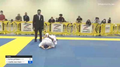 Rita Lynne Gribben vs Rachel Noelle Morrison 2020 Atlanta International Open IBJJF Jiu-Jitsu Championship