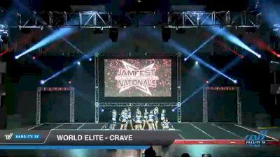 World Elite - Crave [2021 L6 Senior - XSmall Day 1] 2021 JAMfest Cheer Super Nationals