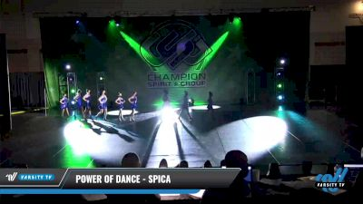 Power of Dance - Spica [2021 Youth - Jazz - Small Day 3] 2021 CSG Dance Nationals