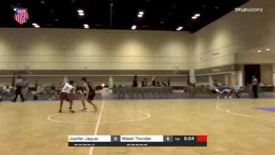 Miami Thunder vs. Jupiter Jaguar - 2021 AAU Boys Championship (15U-17U and 20U)
