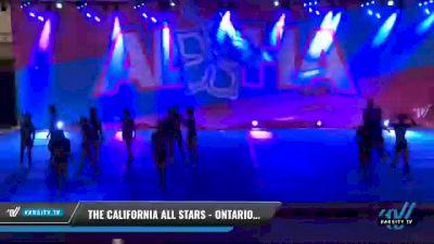 The California All Stars - Ontario - Blue Crew [2021 L6 Senior Coed - XSmall Day 2] 2021 Aloha DI & DII Championships