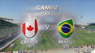 HSBC Sevens: Canada vs Brazil