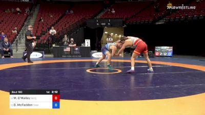 79 kg Consi 8 #2 - David McFadden, Titan Mercury Wrestling Club vs Michael O'Malley, Pennsylvania RTC