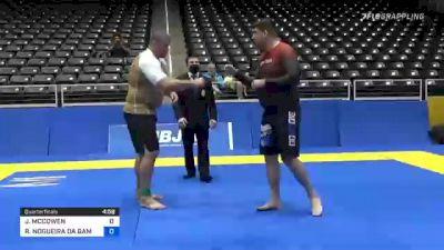 JOHN MCCOWEN vs RAFAEL NOGUEIRA DA GAMA 2021 World IBJJF Jiu-Jitsu No-Gi Championship