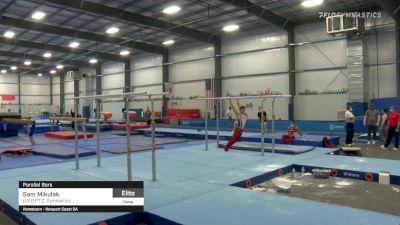 Sam Mikulak - Parallel Bars, U.S.O.P.T.C. Gymnastics - 2021 April Men's Senior National Team Camp