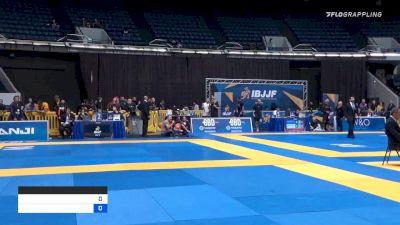 SAMIR JOSÉ CHANTRE DAHÁS vs PEDRO HENRIQUE SEGURA VERAS 2019 World IBJJF Jiu-Jitsu No-Gi Championship
