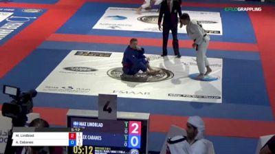 Max Lindblad vs Alex Cabanes 2018 Abu Dhabi World Professional Jiu-Jitsu Championship