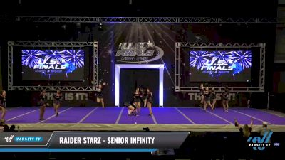 Raider Starz - Senior Infinity [2021 L3 Senior - Small - A Day 2] 2021 The U.S. Finals: Ocean City