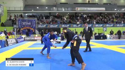 GABRIEL DE SOUSA RIBEIRO vs MAWER ALBERTO COSTA 2020 European Jiu-Jitsu IBJJF Championship