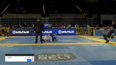 HIAGO SILVA vs ALEXIS BARRAGAN 2019 Pan Jiu-Jitsu IBJJF Championship