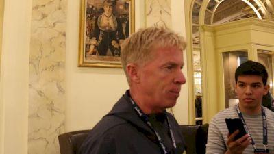Coach Kevin Hanson Reacts To Desi Linden Winning The Boston Marathon