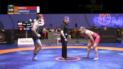 74 kg Bronze - Khadzhimurad Gadzhiev, AZE vs Kamil Rybicki, POL
