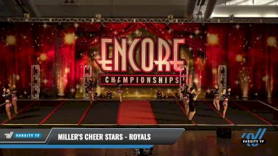 Miller's Cheer Stars - Royals [2021 L3 Senior Coed - D2 Day 2] 2021 Encore Championships: Pittsburgh Area DI & DII