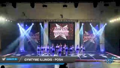 GymTyme Illinois - Posh [2021 L2 - U17 Day 2] 2021 JAMfest Cheer Super Nationals