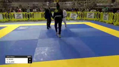SAFIA MIAN vs SANAYAH CLARK 2021 Pan Kids Jiu-Jitsu IBJJF Championship