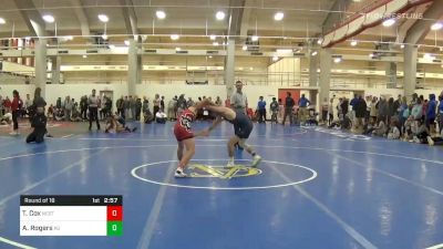 """Prelims - Tommy Cox, NC State vs Andrew """"Cal"""" Rogers, King University"""