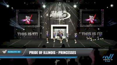 Pride of Illinois - Princesses [2021 L1.1 Youth - PREP - D2 Day 1] 2021 The U.S. Finals: Kansas City
