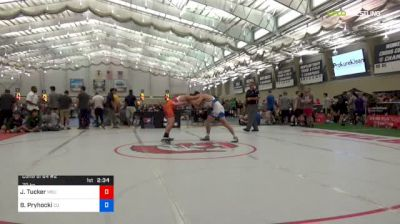 70 kg Consi Of 64 #2 - Jake Tucker, Michigan State vs Bobby Pryhocki, Campbell