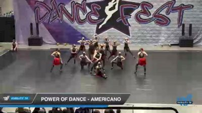 Power of Dance - Americano [2021 Open Kick Day 2] 2021 Badger Championship & DanceFest Milwaukee