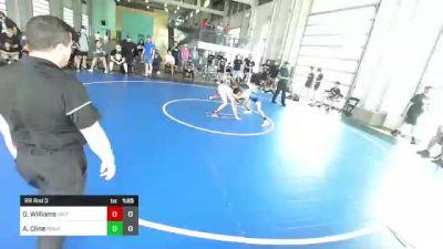 106 lbs Rr Rnd 3 - Owen Williams, Dirty Birds vs Abram Cline, Rbwc