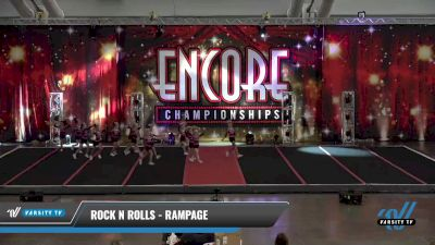 Rock N Rolls - Rampage [2021 L2 Mini - D2 Day 1] 2021 Encore Championships: Pittsburgh Area DI & DII