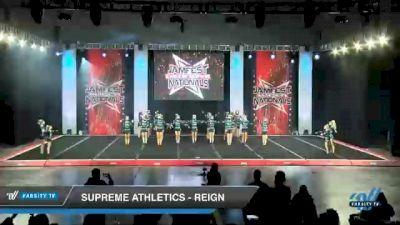 Supreme Athletics - Reign [2021 L4 Junior - Medium Day 1] 2021 JAMfest Cheer Super Nationals