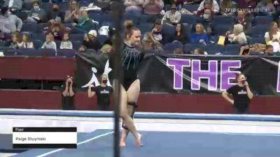 Paige Stuyniski - Floor, Texas Woman's  - 2021 Metroplex Challenge