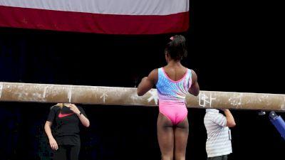 Simone Biles - Beam - 2018 US Championships Podium Training