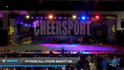 Python All Stars Mighty Minis [2021 Mini 1] 2021 CHEERSPORT: Atlanta Grand Championship