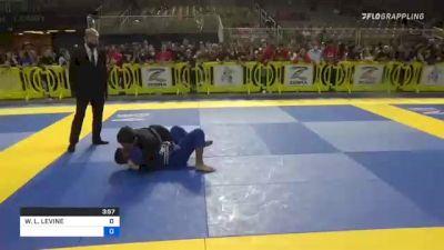 WILLIAM L. LEVINE vs LORENZO JESUS TINAO 2021 Pan Kids Jiu-Jitsu IBJJF Championship