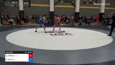 67 kg Consolation - Cody Chittum, Tennessee vs Hunter Garvin, Big Game Wrestling Club
