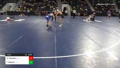 174 lbs Prelims - George Moseley, Averett University vs Tanner Weaver, Luther College