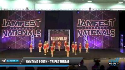 GymTyme South - Triple Threat [2021 L3 Junior - Small Day 2] 2021 JAMfest: Louisville Championship