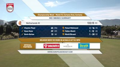 Replay: Championship Week - A1 vs A2 - 2021 Belgium vs Netherlands XI | Oct 6 @ 11 AM