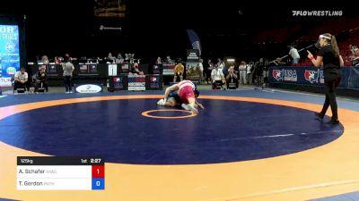 125 kg Rnd Of 16 - Austin Schafer, New York Athletic Club vs Tyrell Gordon, Panther Wrestling Club RTC