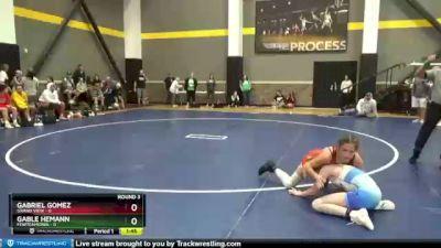 100 lbs Round 3 (3 Team) - Gabriel Gomez, Grand View vs Gable Hemann, FEWTeamIowa