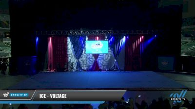 ICE - Voltage [2021 Junior Coed - Hip Hop Day 1] 2021 The American Gateway DI & DII
