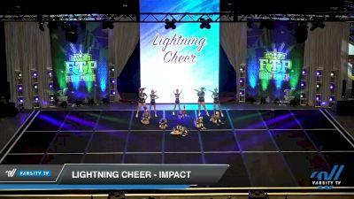 Lightning Cheer - Impact [2020 L1 Junior Day 1] 2020 Feel The Power East