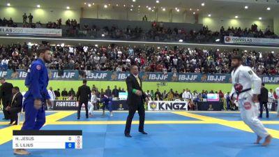 HORLANDO MONTEIRO vs SANTERI LILIUS 2019 European Jiu-Jitsu IBJJF Championship