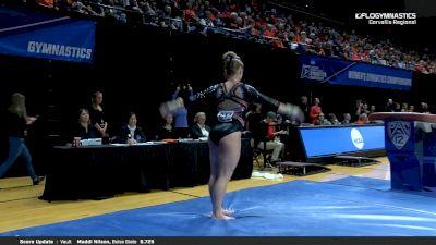 Samantha Smith - Vault, Boise State - 2019 NCAA Gymnastics Regional Championships - Oregon State