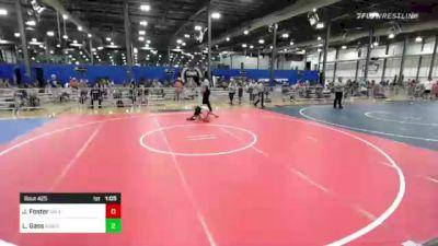 65 lbs Rr Rnd 3 - Jett Foster, MN Elite vs Logan Gass, Moen Wrestling Academy