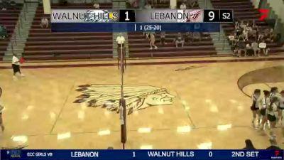 Replay: Lebanon vs Walnut Hills | Sep 30 @ 8 PM