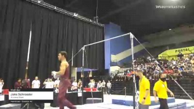 Jake Schroeder - High Bar, Arizona State - 2021 Men's Collegiate GymACT Championships