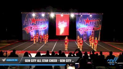 Gem City All Star Cheer - Gem City Senior All-Stars [2021 L2 Senior - D2 - Small Day 3] 2021 ASCS: Tournament of Champions & All Star Prep Nationals