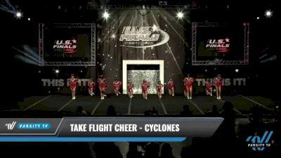 Take Flight Cheer - Cyclones [2021 L2 Junior - D2 - Small Day 1] 2021 The U.S. Finals: Kansas City