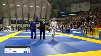 FABRICIO JOSÉ BARBAROTTI vs MICHAEL ALEXANDRE LANGHI 2019 World Jiu-Jitsu IBJJF Championship