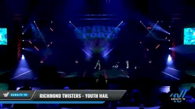 Richmond Twisters - Youth Hail [2021 L1 Youth - D2 Day 2] 2021 Spirit Sports: Battle at the Beach